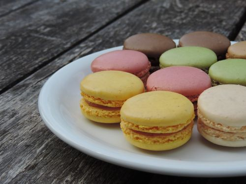 macarons france color