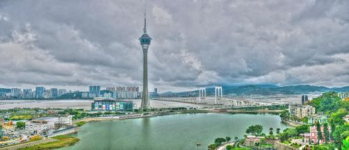 macau tower south bay lake panorama