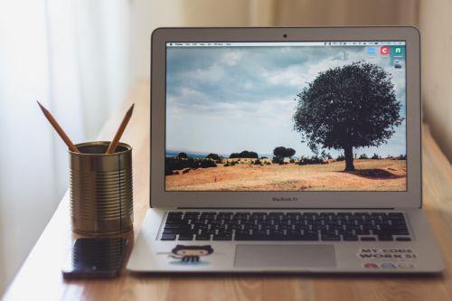 macbook air laptop computer