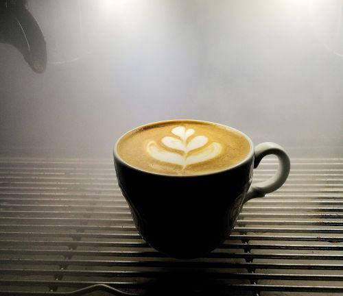 macchiato latteart coffe