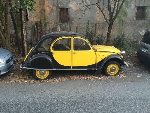 machine yellow nero