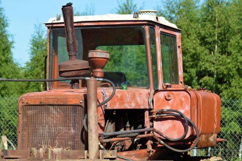 machine tractors tractor