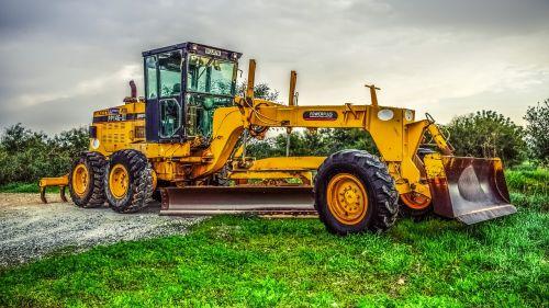 machine tractor heavy