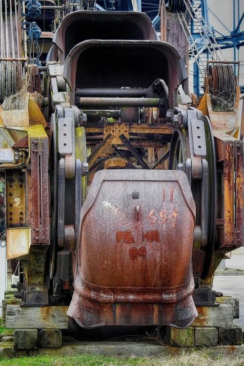 machine industry braunkohlebagger