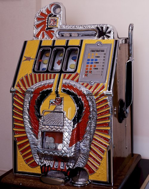 machine  vintage  slot