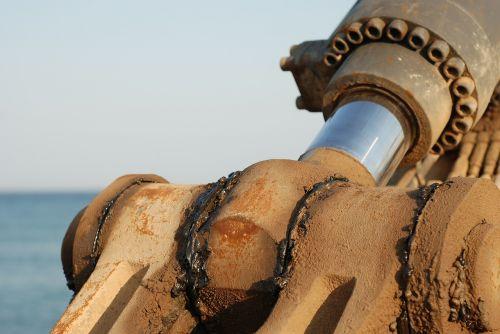 machine excavator industrial