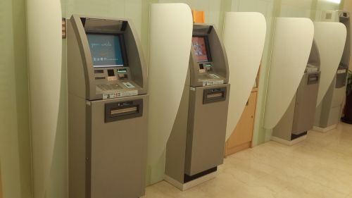 machine banking withdrawal