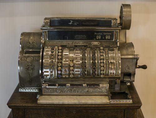 machine register machine vintage