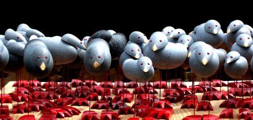machines nonentities bird