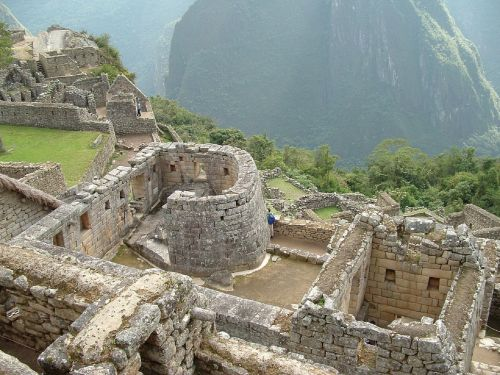 machu picchu ruins mountains