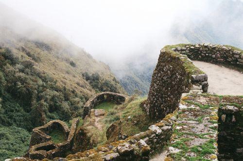 machu picchu landscape tourist spot