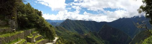 machupichu inca mountain