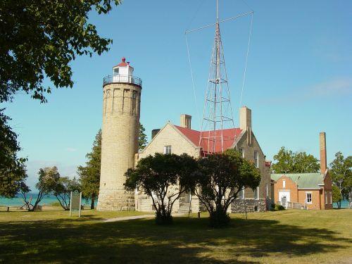 mackinaw city lighthouse michigan lighthouse