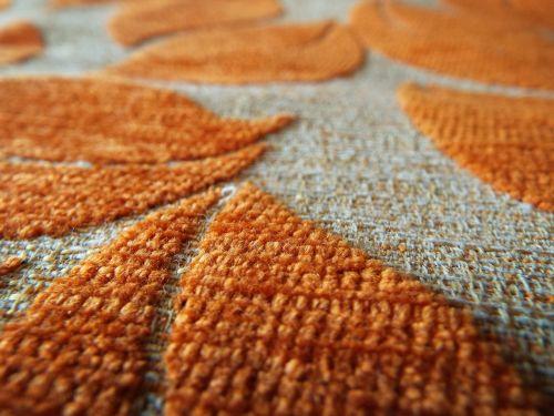 macro carpet textiles