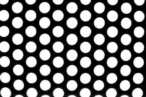macro circle contrast