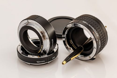 macro extension tubes photographic equipment extension ring