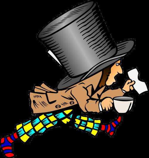 mad hatter alice in wonderland story