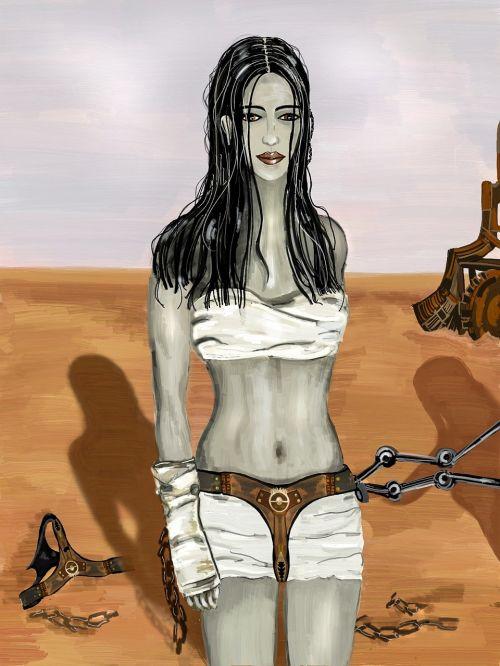 mad max desert captive