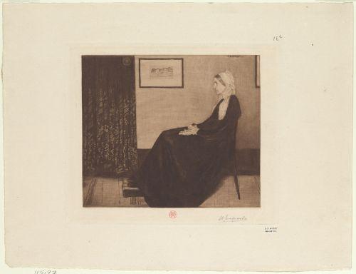 madame whistler james mcneill whistler 1834-1903 artist