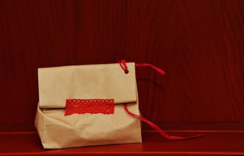 made paper bag gift