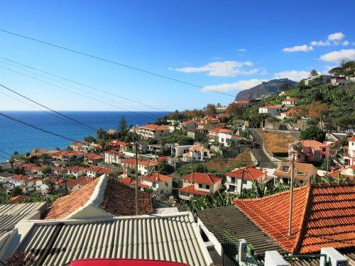 Madeira,perspektyva,funchal