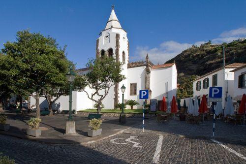 madeira santa cruz church