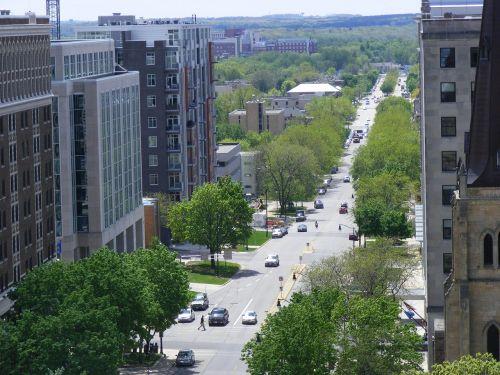 madison wisconsin cityscape