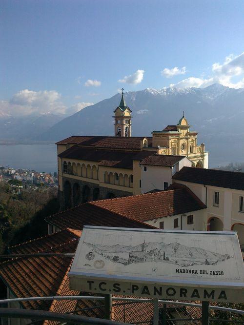 madonna del sasso monastery ticino