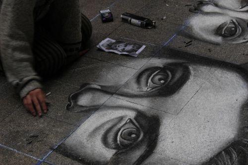 madrid graffiti madonnari