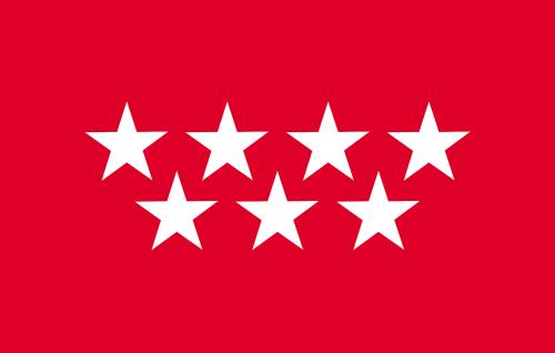 madrid community of madrid flag