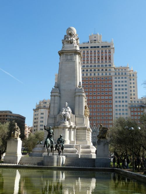 madrid spain monument