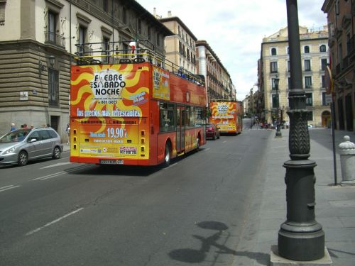 madrid tourist bus city centre