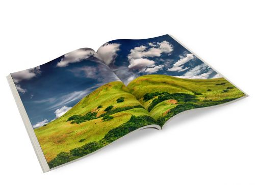 magazine photo book brochure