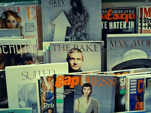 magazines bookshop read