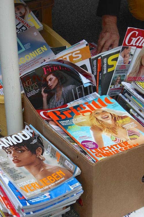 magazines magazine fashion magazine