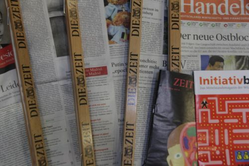 magazines newspapers paper