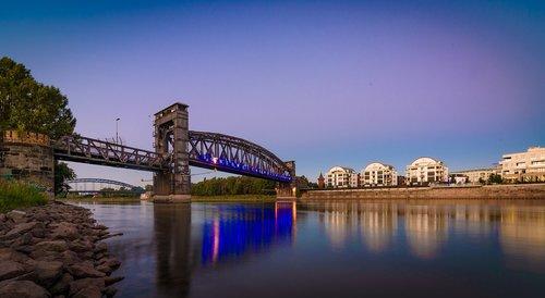 magdeburg  bridge  saxony-anhalt
