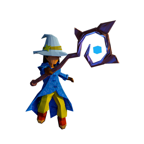 mage  lowpoly  power