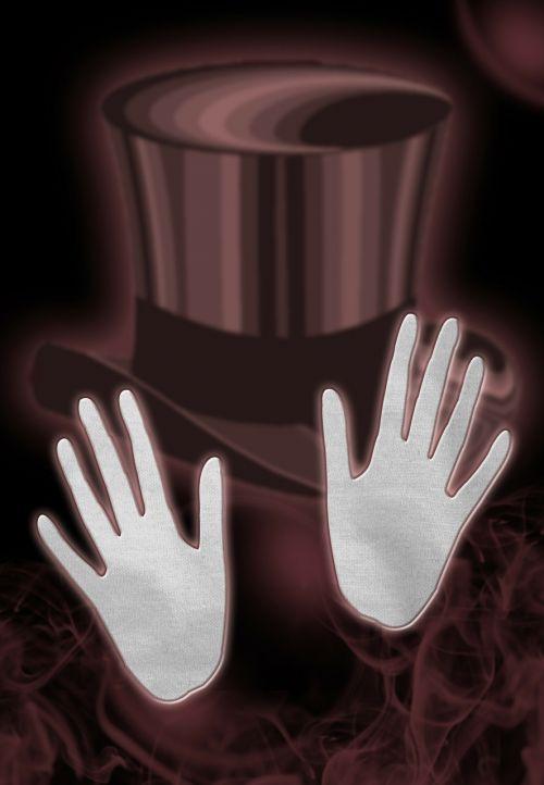 magic magician hands
