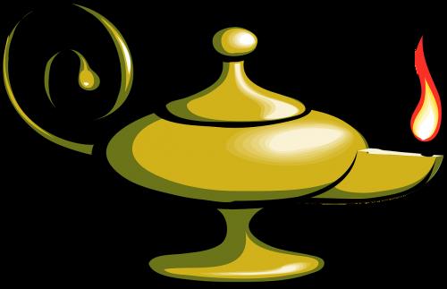 magic lamp lantern