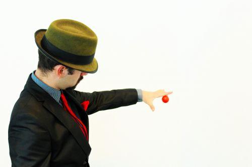 magic ball magician