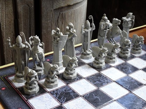 magic chess  chess  harry potter