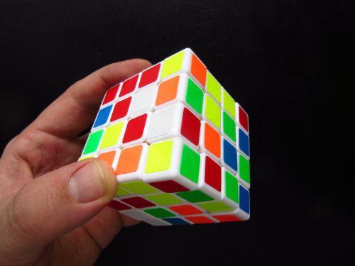 magic cube hand puzzle