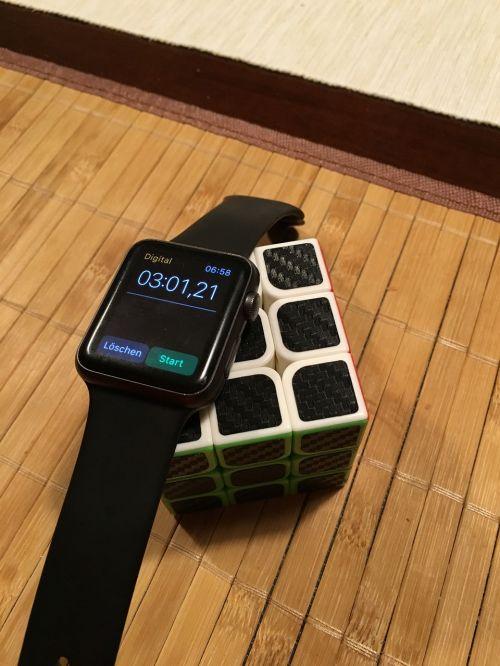 clock magic cube speed