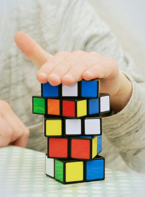 magic cube patience tricky
