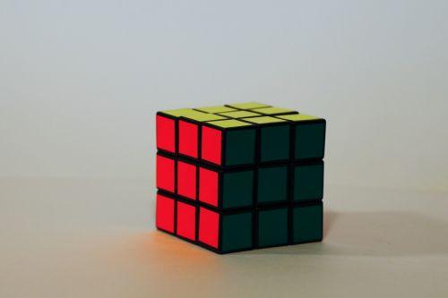 magic cube rotary puzzle colorful
