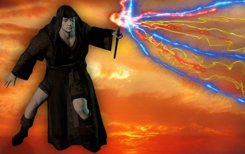 magician conjure fantasy