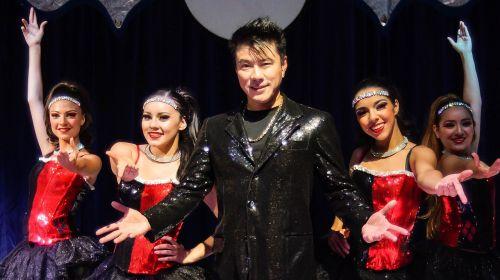 magician circus ladies