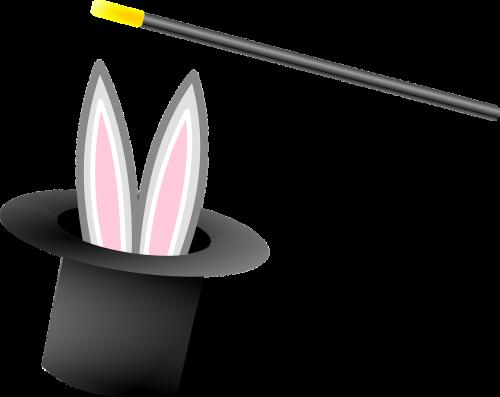 magician hat bunny
