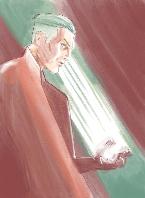 magician  illustration  character